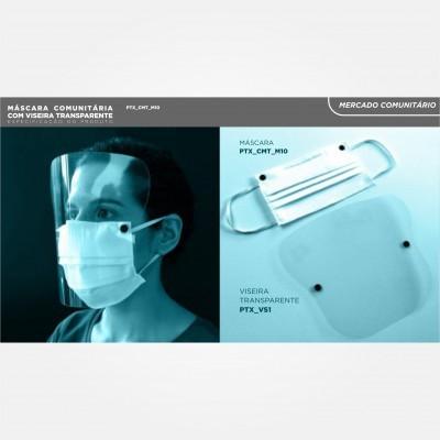 Máscara Certificada c/Viseira Nível 2