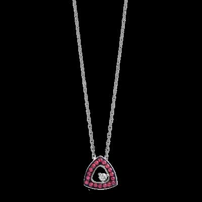 Colar Monseo Cosmopolitan Safiras Diamante