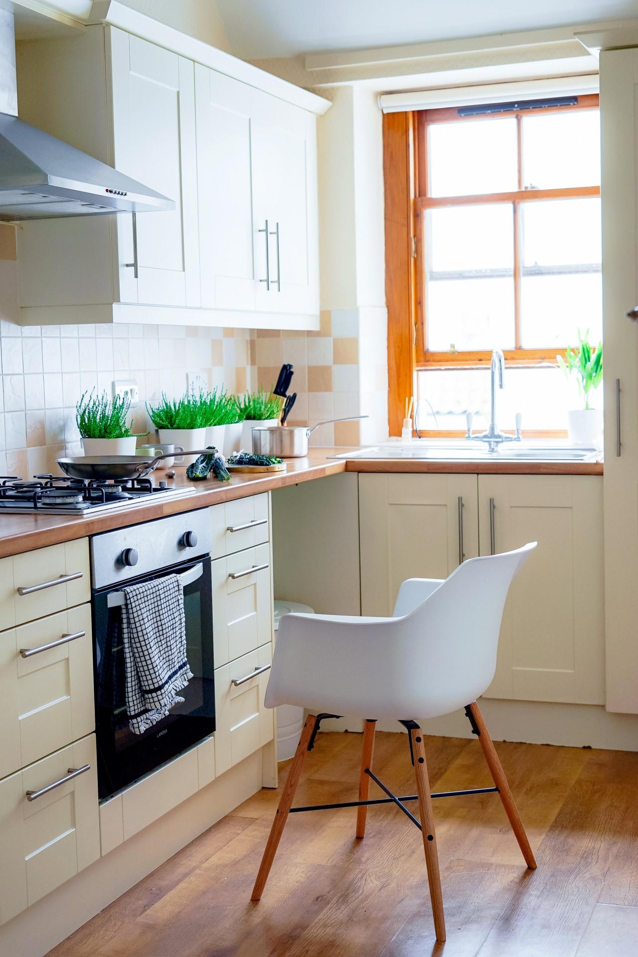 White Small Kitchen