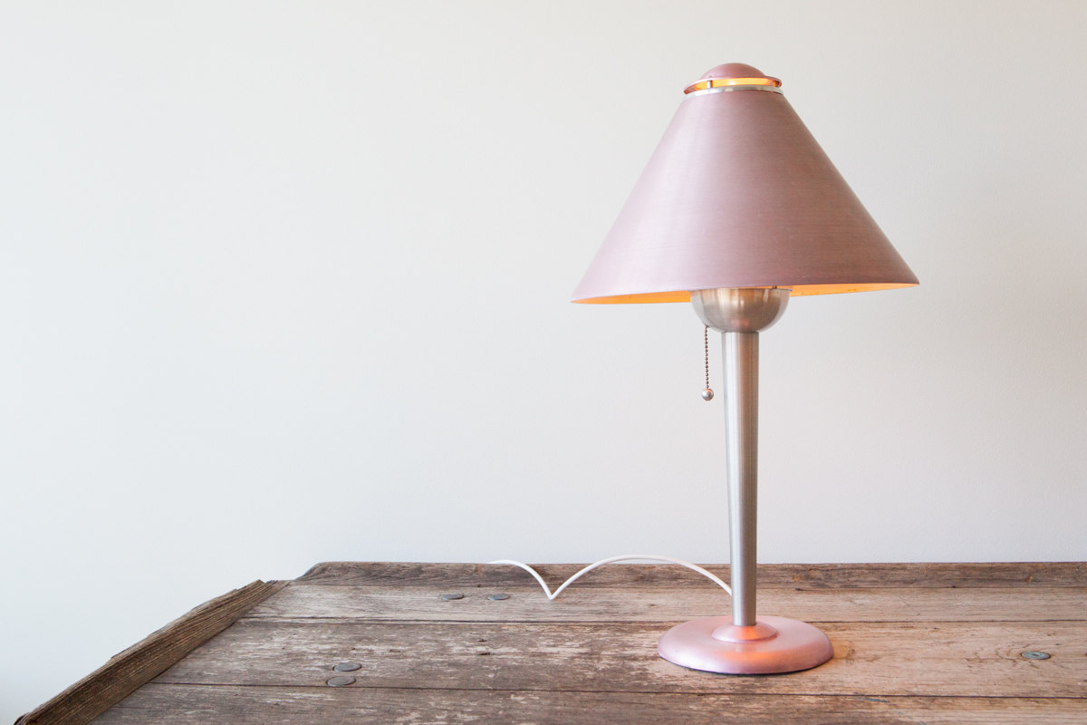Machine Age Table Lamp