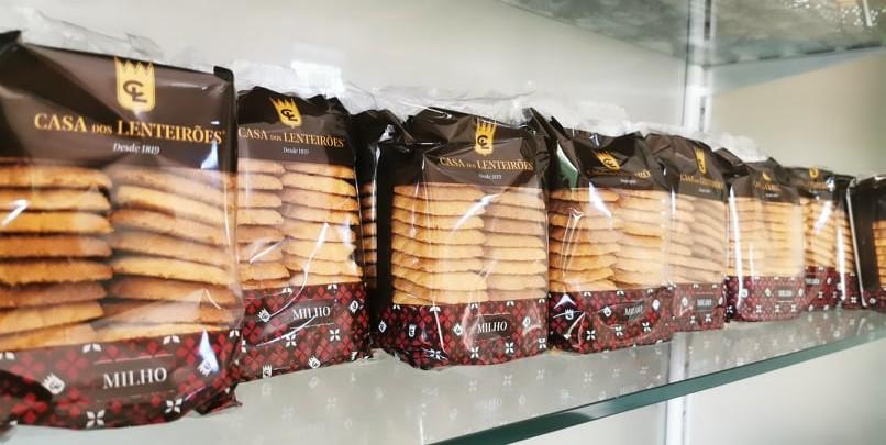 Biscoitos de Milho 190g | Doces do Freixo - Casa dos Lenteirões