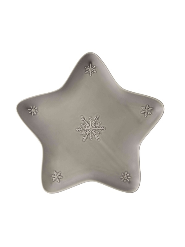 Taça Estrela 45 Antracite - Snowflakes
