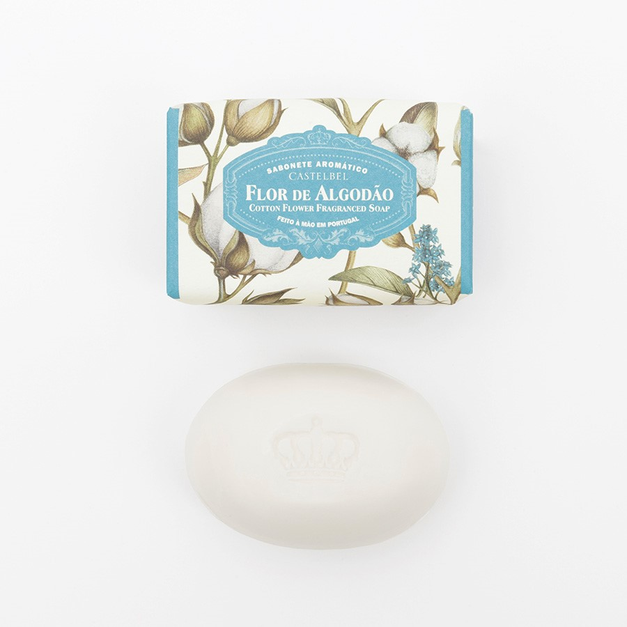 Soap  Castelbel Cotton Flower 150g