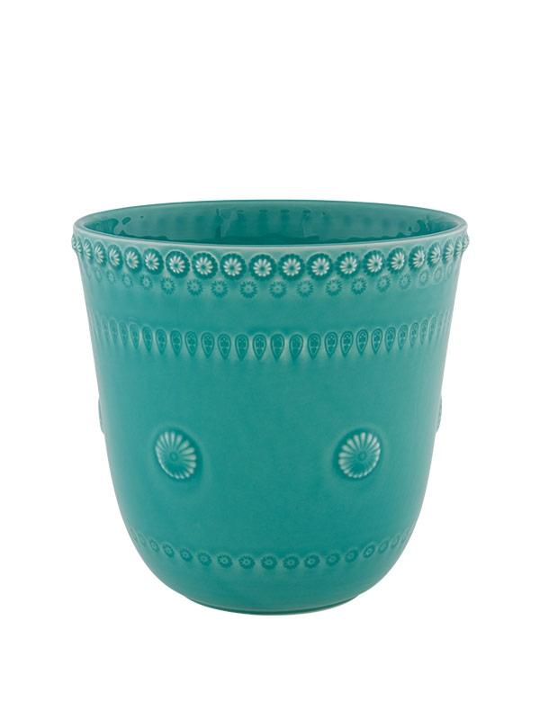 Vaso 20cm Verde Água