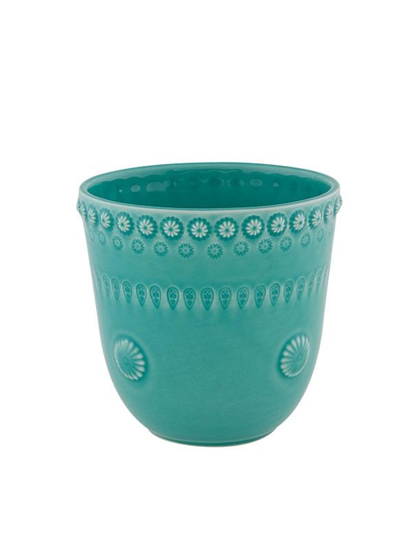 Vaso 14cm Verde Água