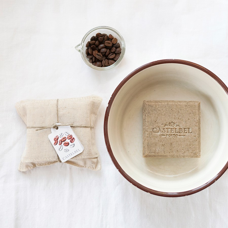 Soap - Castelbel Linen Coffee 150g soap