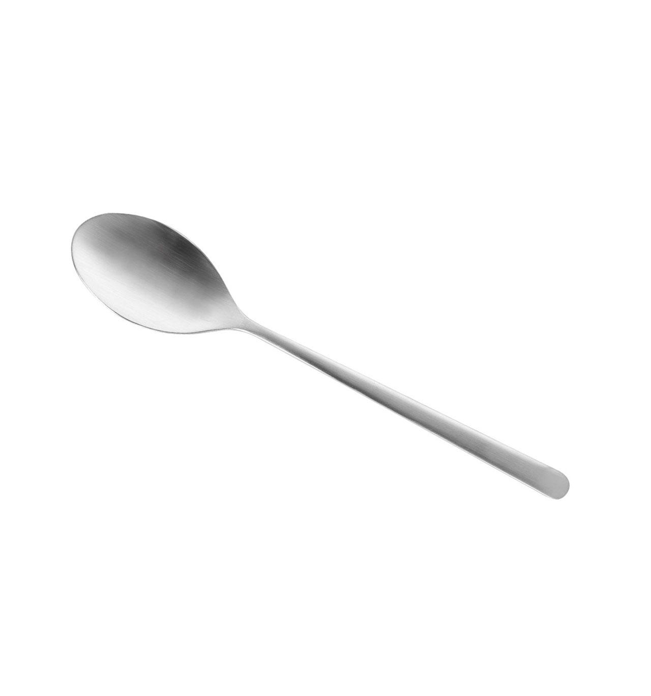 Colher de Sopa Velvet Matt Escovado