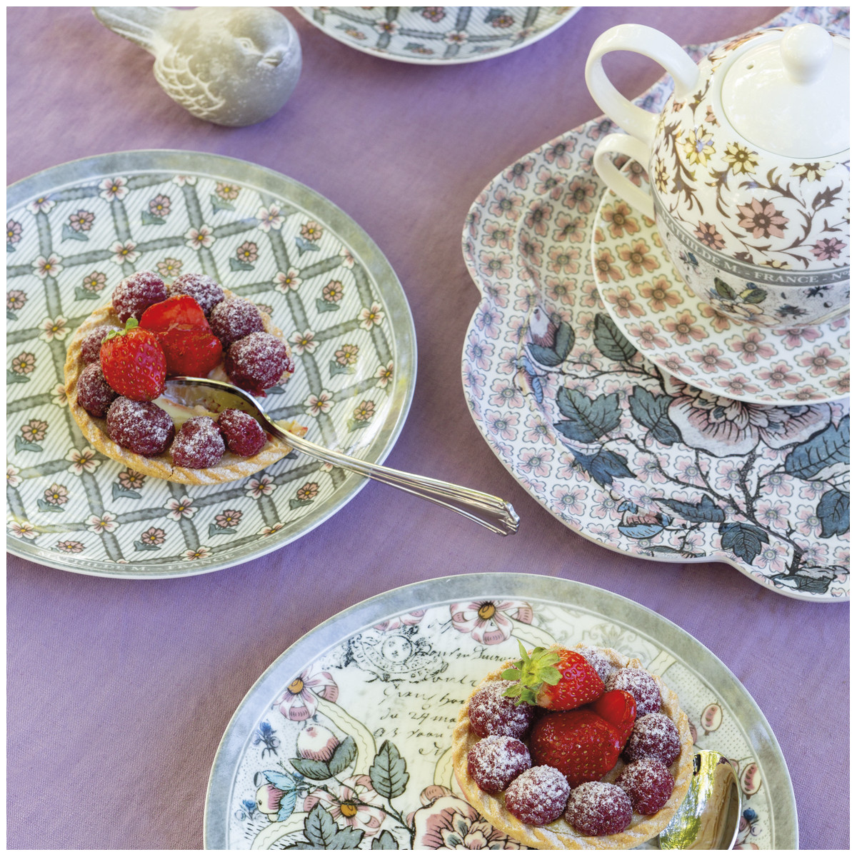Bule de Chá - Madame de Pompadour