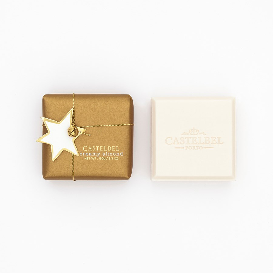 Sabonete Castelbel Xmas Sparkle Creamy Almond 150g