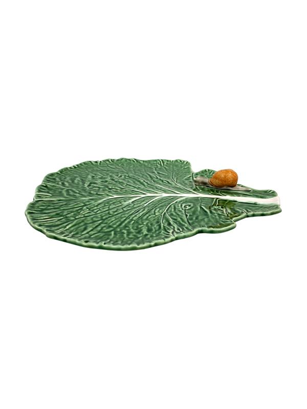 Folha c/caracol natural