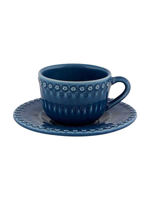 Chávena Chá c/ Pires Azul
