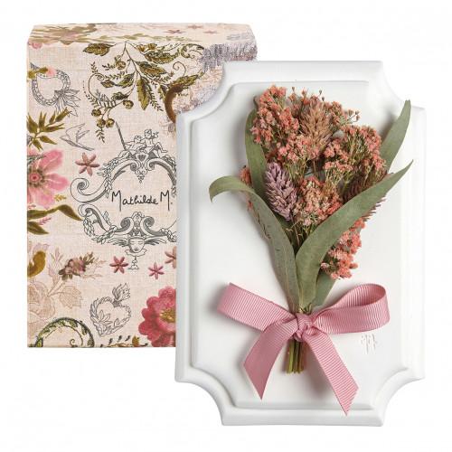 Pequeno Bouquet de parede Cabinet des Merveilles - Rosa