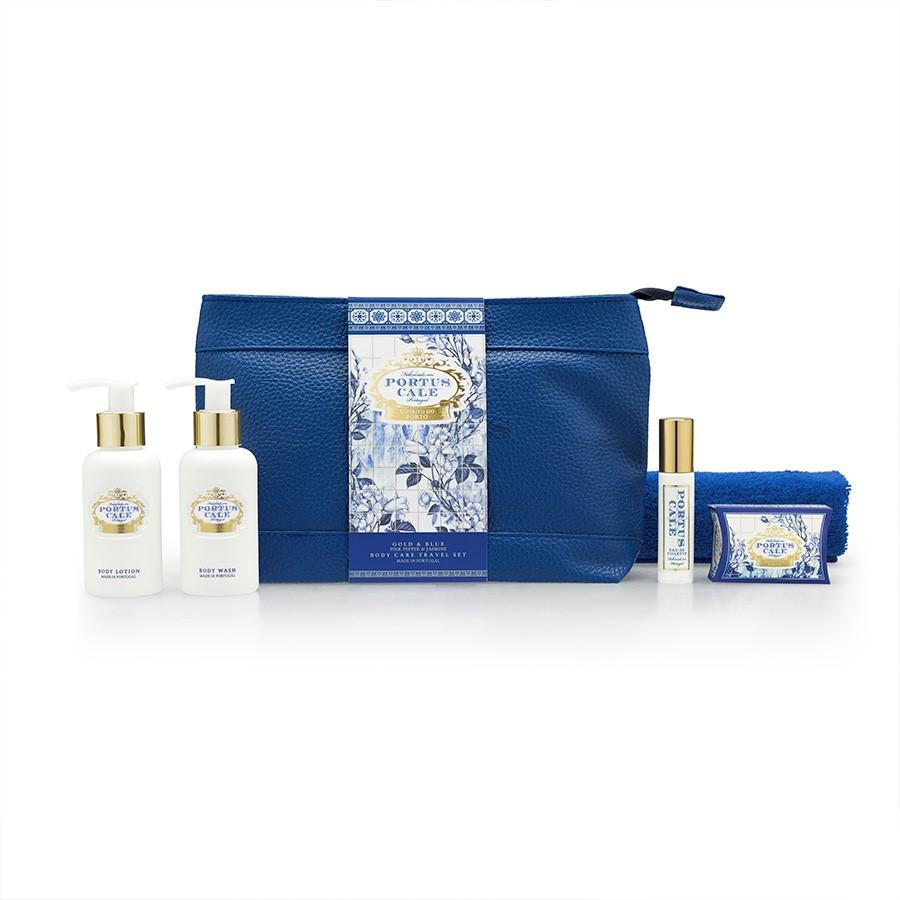 Travel Set - Portus Cale Gold&Blue