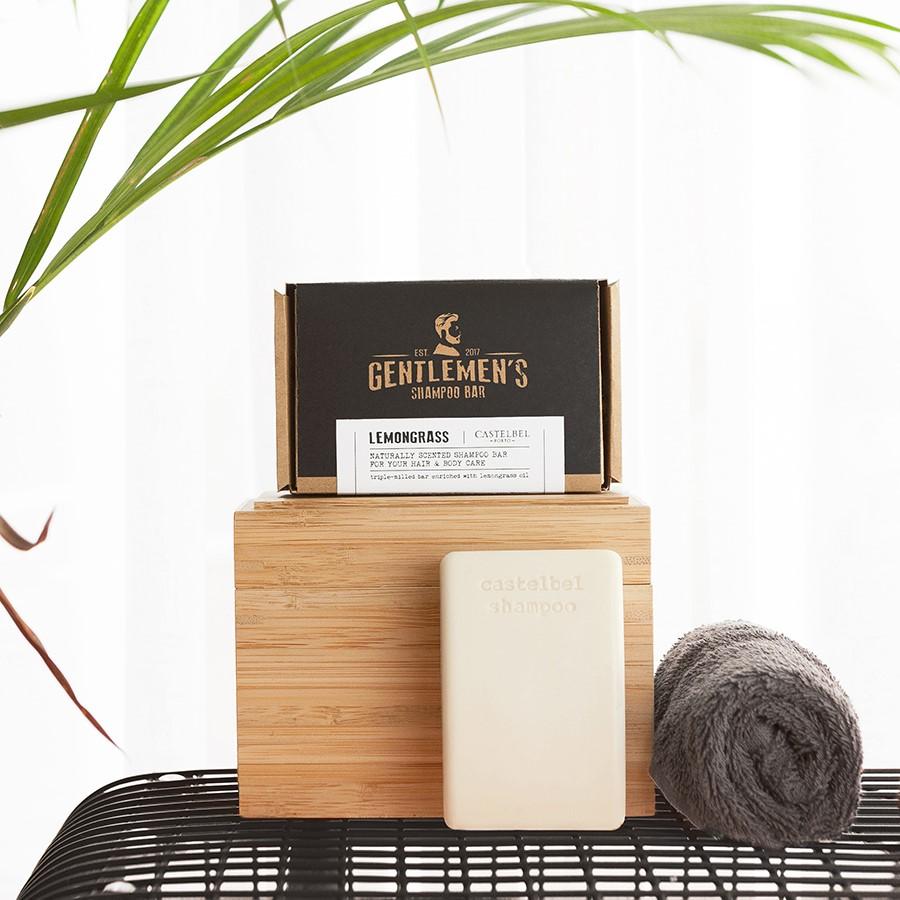 Shampoo Bar Castelbel Traveller Lemongrass Gentlemen´s 180g