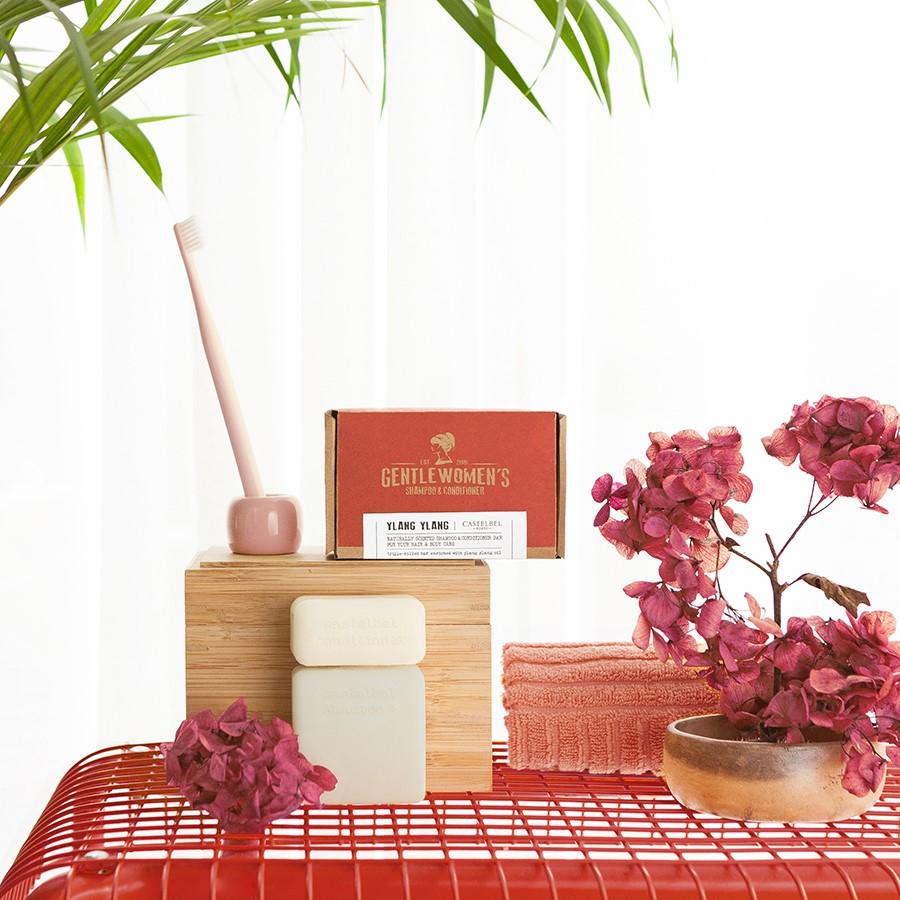 Shampoo & Conditioner  Bar Castelbel Ylang Ylang Gentlewomen´s  120g/50g