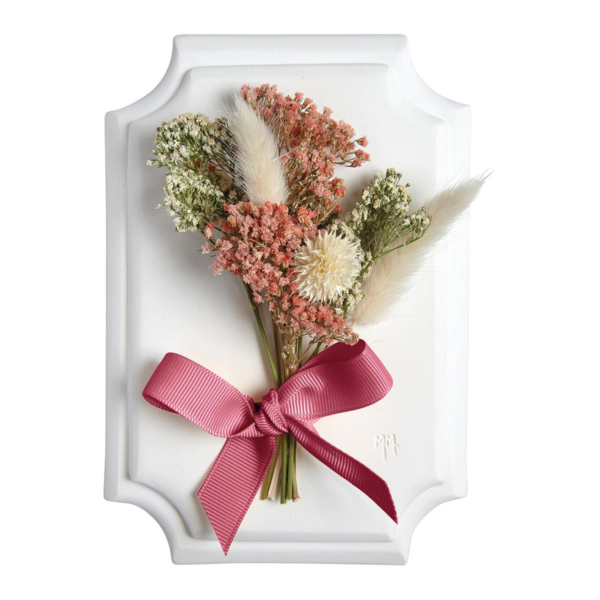 Pequeno Bouquet de parede Cabinet des Merveilles - Branco