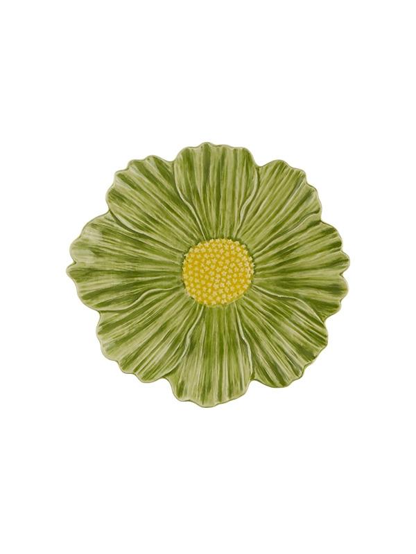 Prato 23 Cosmos verde/amarelo - Maria Flor