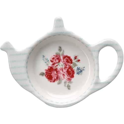 Prato para Saqueta de Chá Elisabeth White