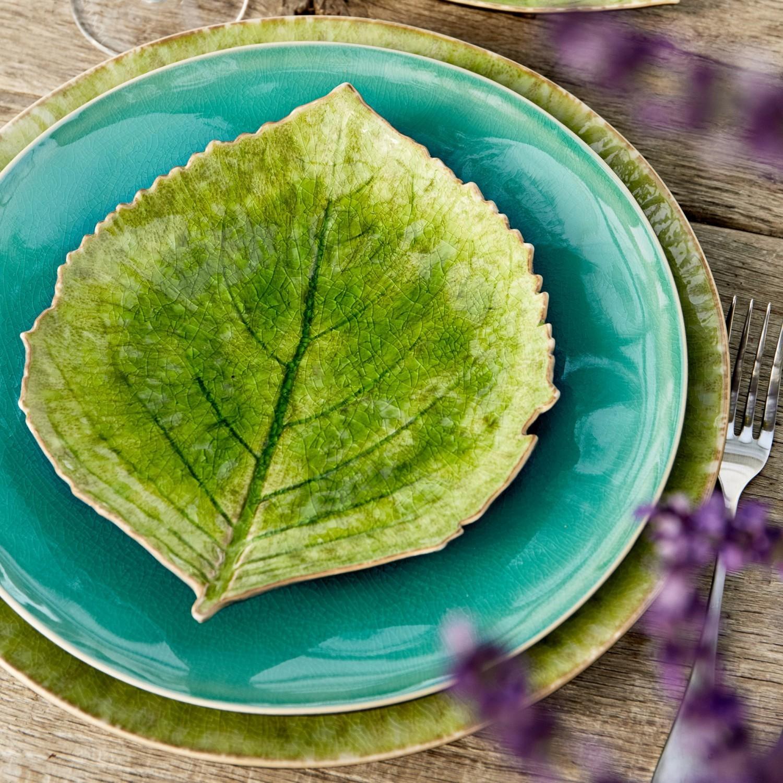 Gift folhas de Hortênsia e de Alquemila Riviera - Tomate