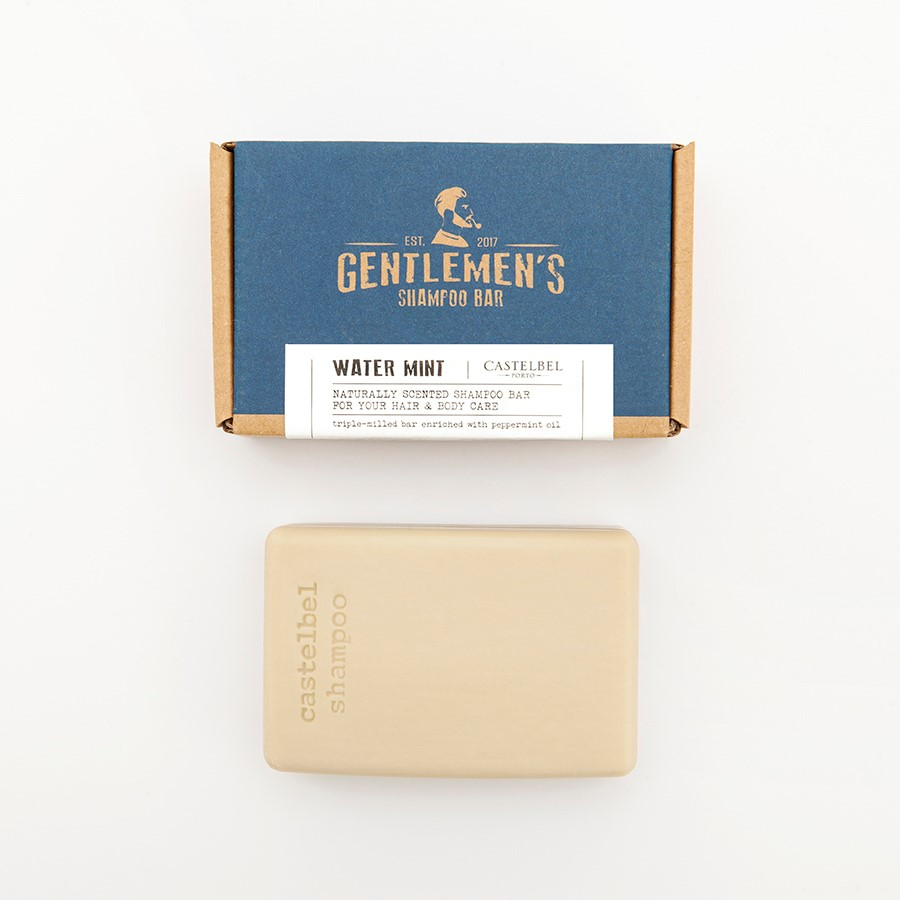 Shampoo Bar  Castelbel Traveller Water Mint Gentlemen´s 180g