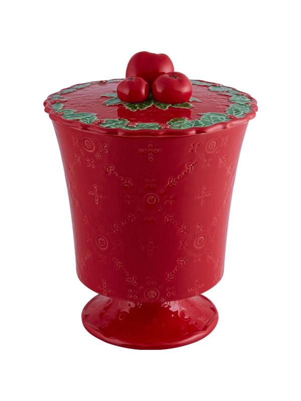 Bomboneira  Alta - Coroa de Natal