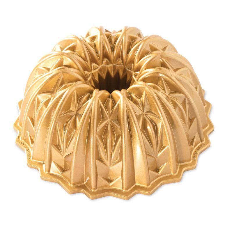 Forma Gold Crystal Bundt Pan