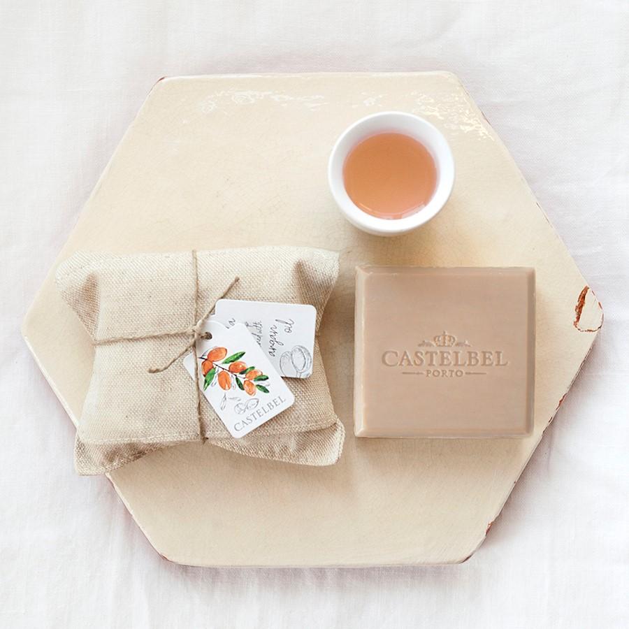 Soap - Castelbel Linen Vanilla 150g soap