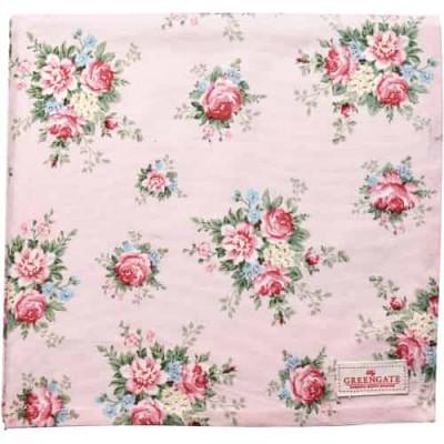 Toalha de Mesa Aurelia Pale Pink 150cm x 150cm
