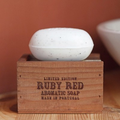 Soap in Gift Box - Portus Cale Ruby Red 150g