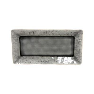 Tabuleiro rectangular 34cm, MADEIRA, cinza