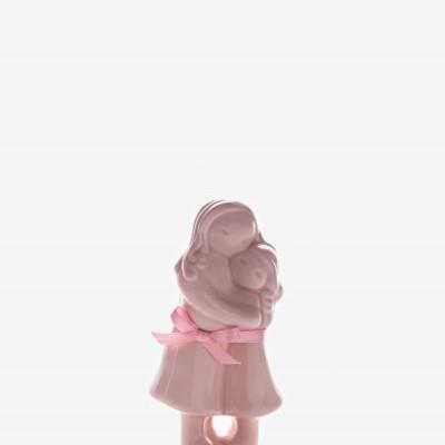 Abraço Mãe Menina Rosa