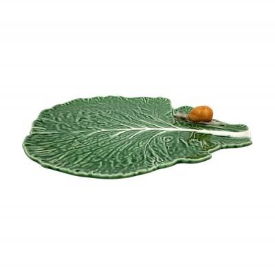Folha c/caracol natural - Couve