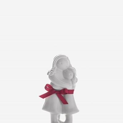 Abraço Mãe com menina branco