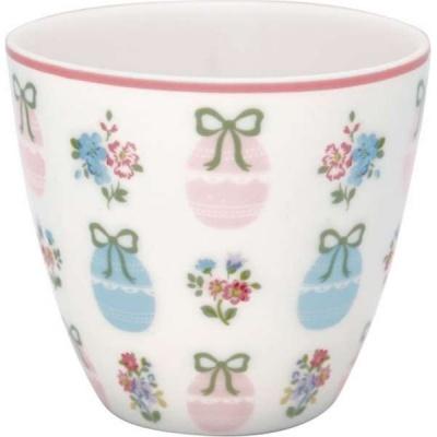 Latte cup Elsie white