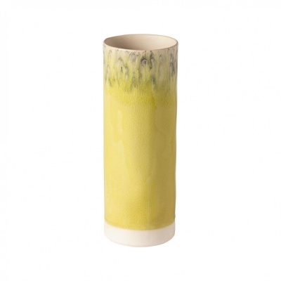 Jarra cilíndrica 25cm, MADEIRA, limão