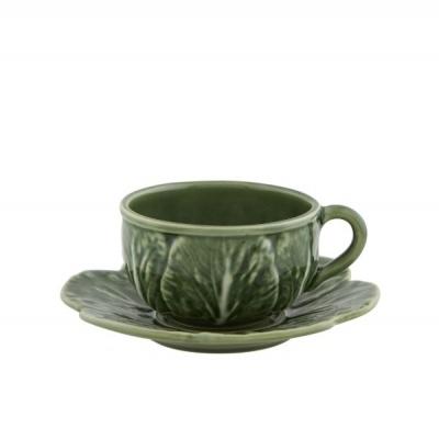 Chávena Chá c/Pires Natural - Couve