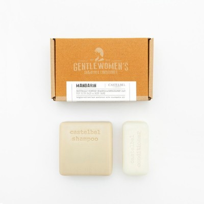 Shampoo & Conditioner Bar Castelbel Mandarin Gentlewomen´s  120g/50g