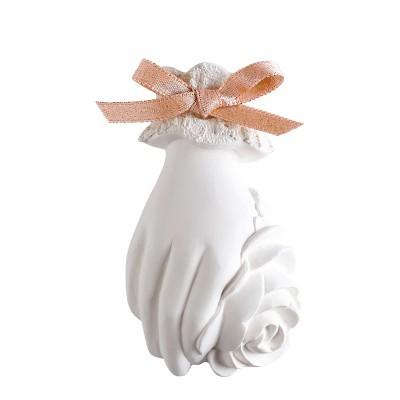 Decoração perfumada com flores à mão - Rose Élixir