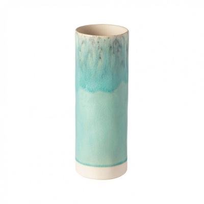 Jarra cilíndrica 25cm, MADEIRA, azul