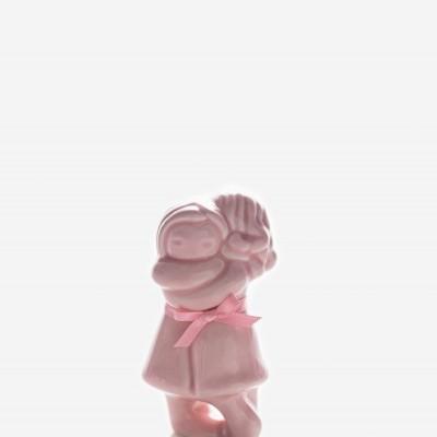 Abraço Menina Menina Rosa