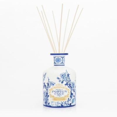 PC Gold&Blue Porcelain 2L Diffuser + Natural Reeds