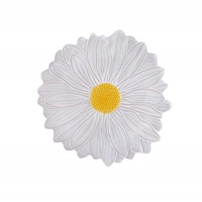 Prato 23 Margarida Branco/Amarelo - Maria Flor