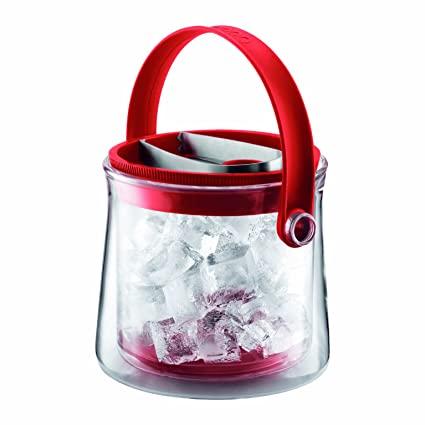 Balde gelo térmico vermelho Bodum