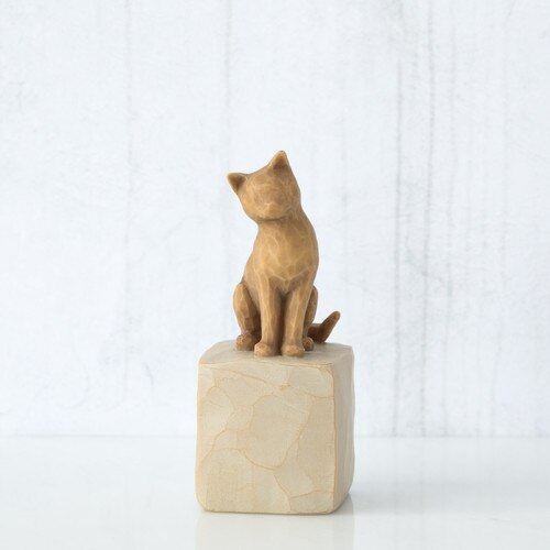 "Figura ""Amo o meu Gato"" Willow Tree"