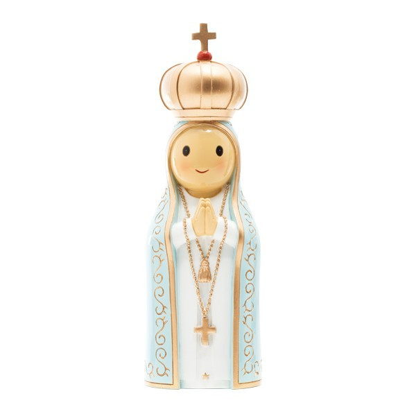 "Figura ""Nossa Senhora de Fátima, 21,5cm ( grande)""  Little Drops of Water"