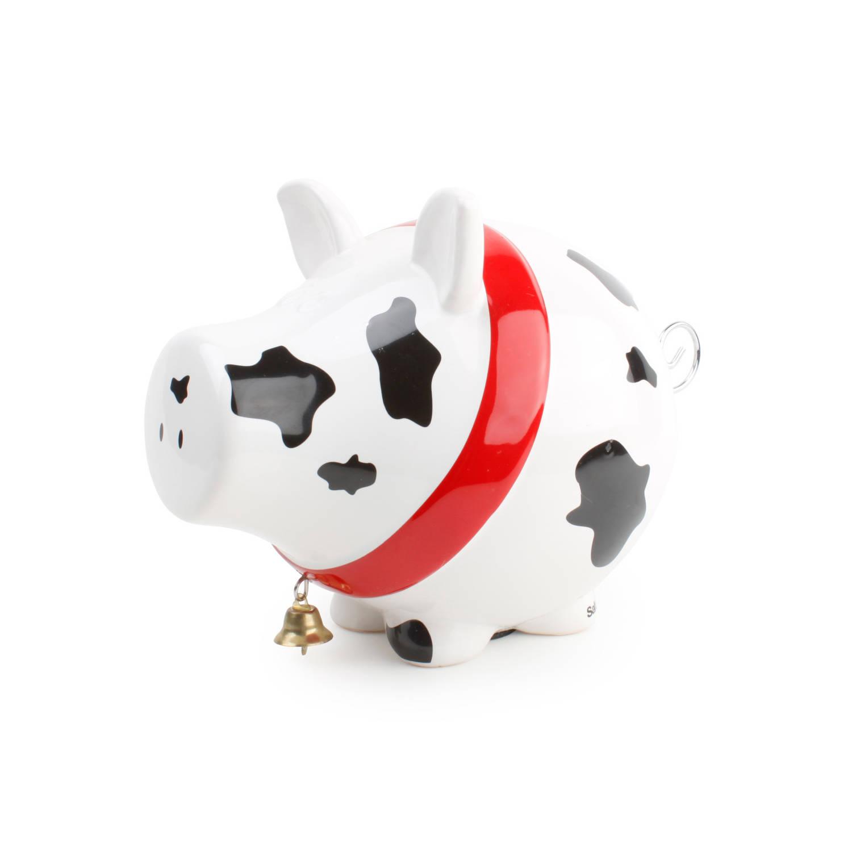 Porquinho mealheiro Vaca S&P