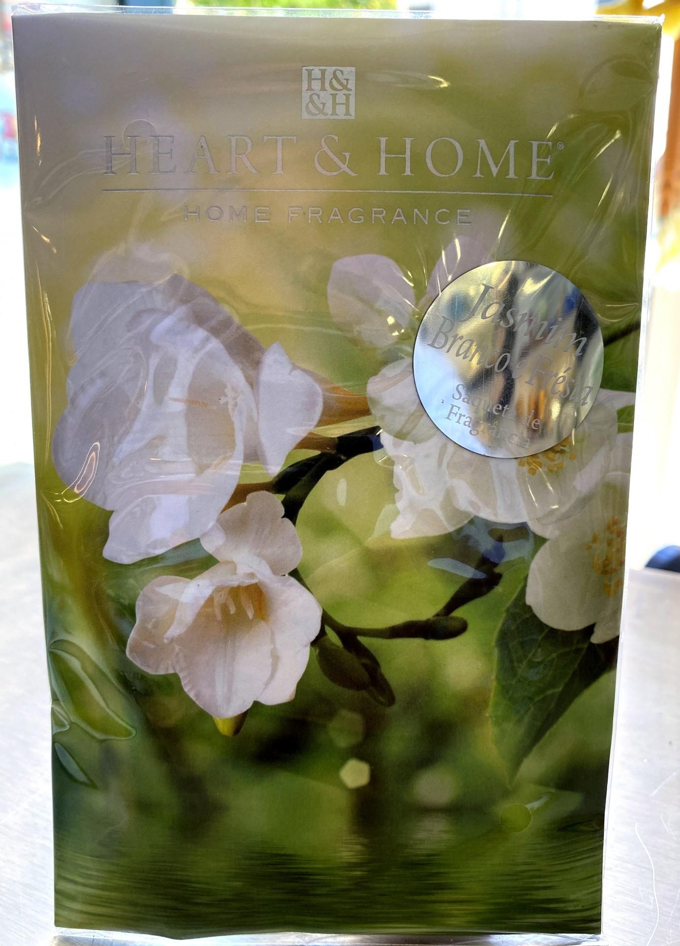 Sachet perfumado Jasmim Branco e Frésia  Heart & Home
