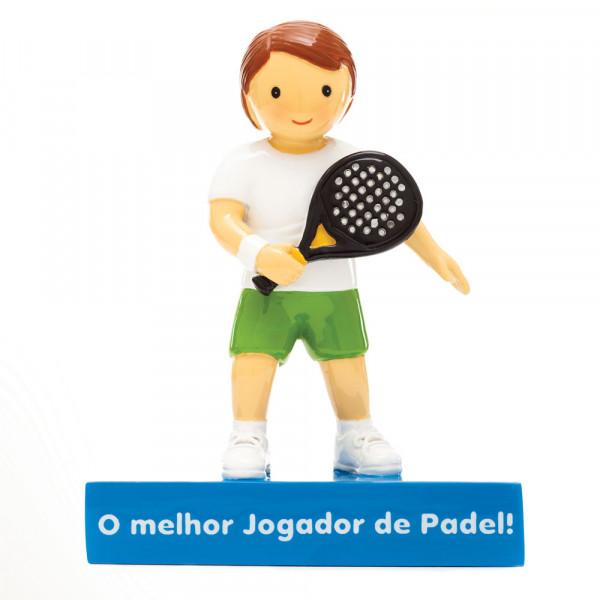 """Little Drops of Water Figura """"O Melhor jogador de Padel!"""""""