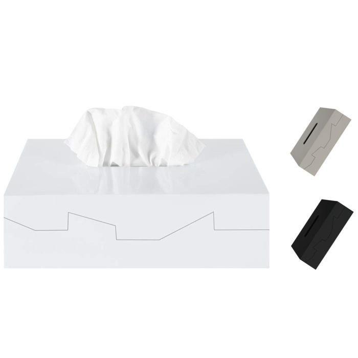 Caixa para lenços Silhouette branco Spirella