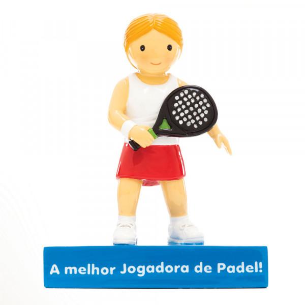 """Little Drops of Water Figura """"A Melhor jogadora de Padel!"""""""
